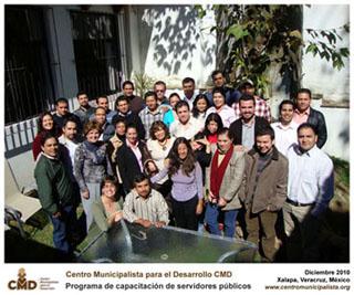 Concluyen cursos del CMD y continúa el programa de capacitación de servidores públicos en diciembre