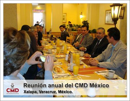 Reunión anual del CMD México