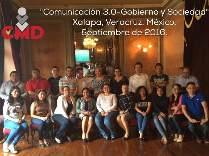 """Culmina exitosamente el Curso """"Comunicación 3.0-Gobierno y Sociedad"""