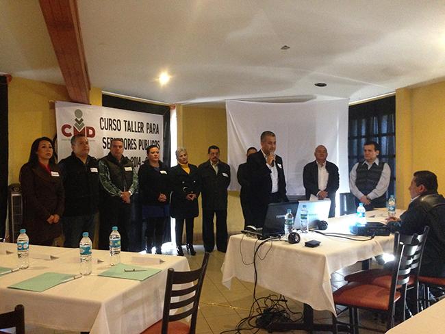 El centro municipalista para el Desarrollo imparte capacitación de alto nivel a las autoridades electas de Huatusco
