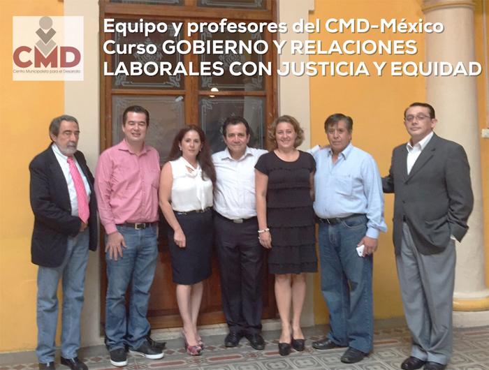 Se clausura el exitoso curso «Gobierno y Relaciones Laborales con Justicia y Equidad