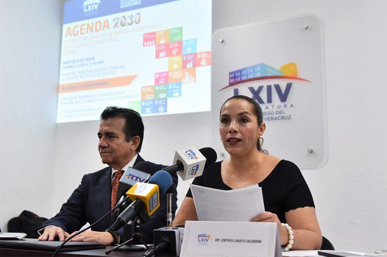 El Centro Municipalista para el Desarrollo y el Congreso del Estado de Veracruz trabajarán con los 212 ayuntamientos para implementar la Agenda 2030 en los  municipios