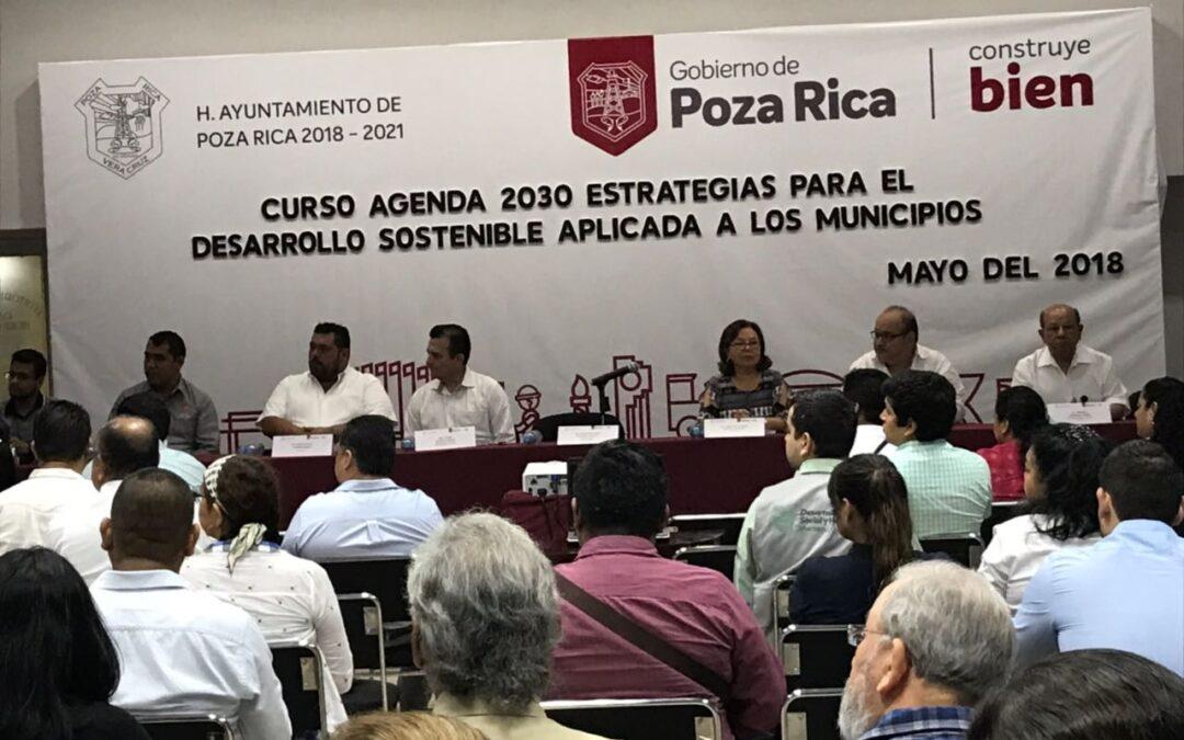 Continúa con lleno total el curso AGENDA 2030: ESTRATEGIA PARA EL DESARROLLO SOSTENIBLE APLICADA A LOS MUNICIPIOS
