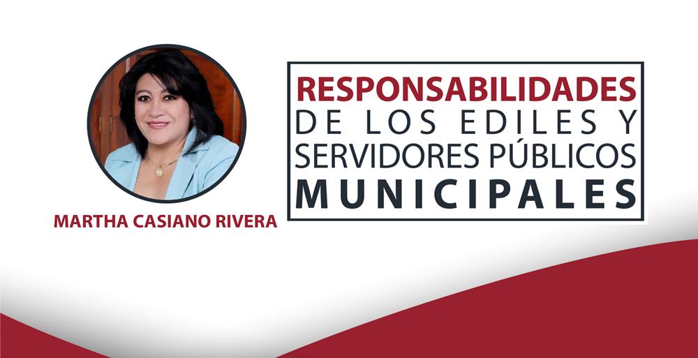Curso Responsabilidades de los Ediles y Servidores Públicos Municipales