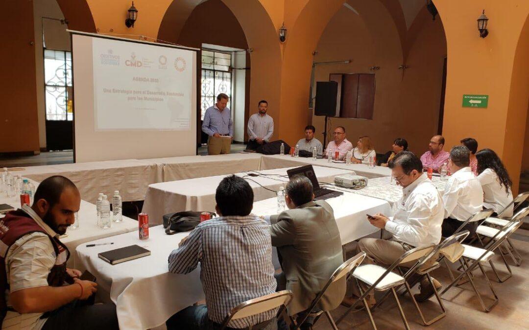 El Centro Municipalista para el Desarrollo presenta al ayuntamiento de Tehuacán la Agenda 2030