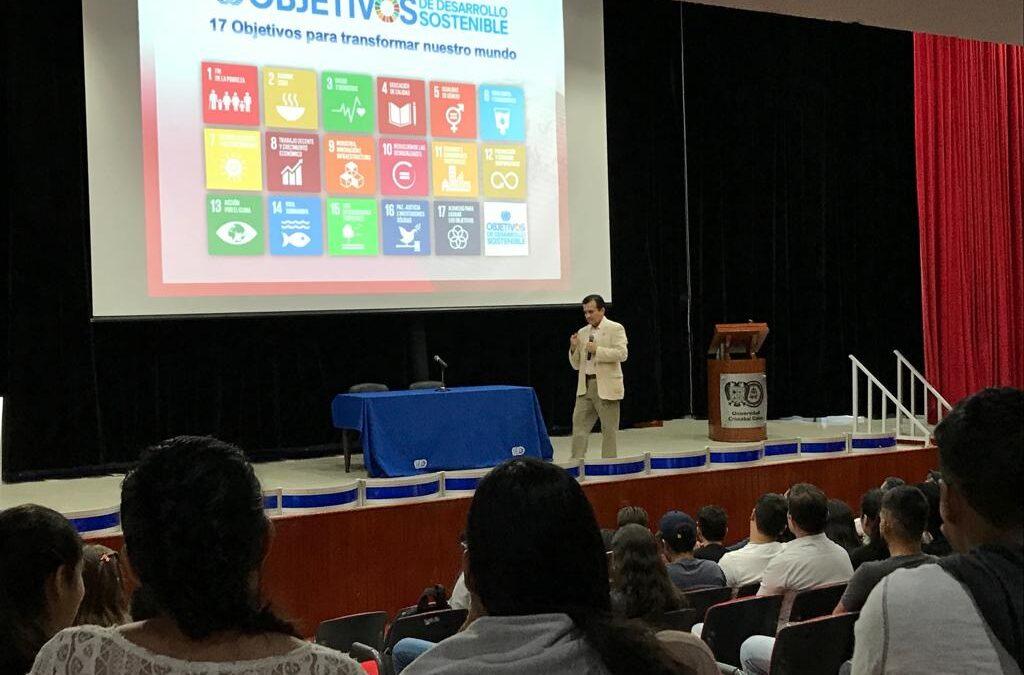 La Agenda 2030 y el CMD-México en la Universidad Cristóbal Colón