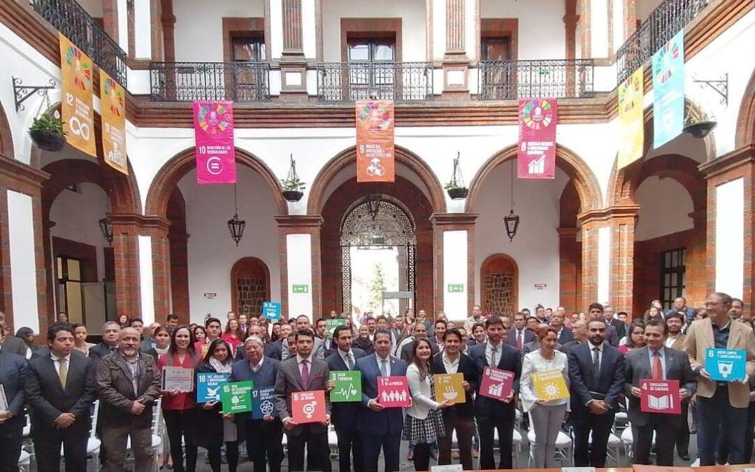 """Ayuntamiento de Toluca firma la """"Carta de Veracruz"""" y se adhiere a la Red Iberoamericana de  Gobiernos e Instituciones por el Logro de la Agenda 2030 de la ONU"""