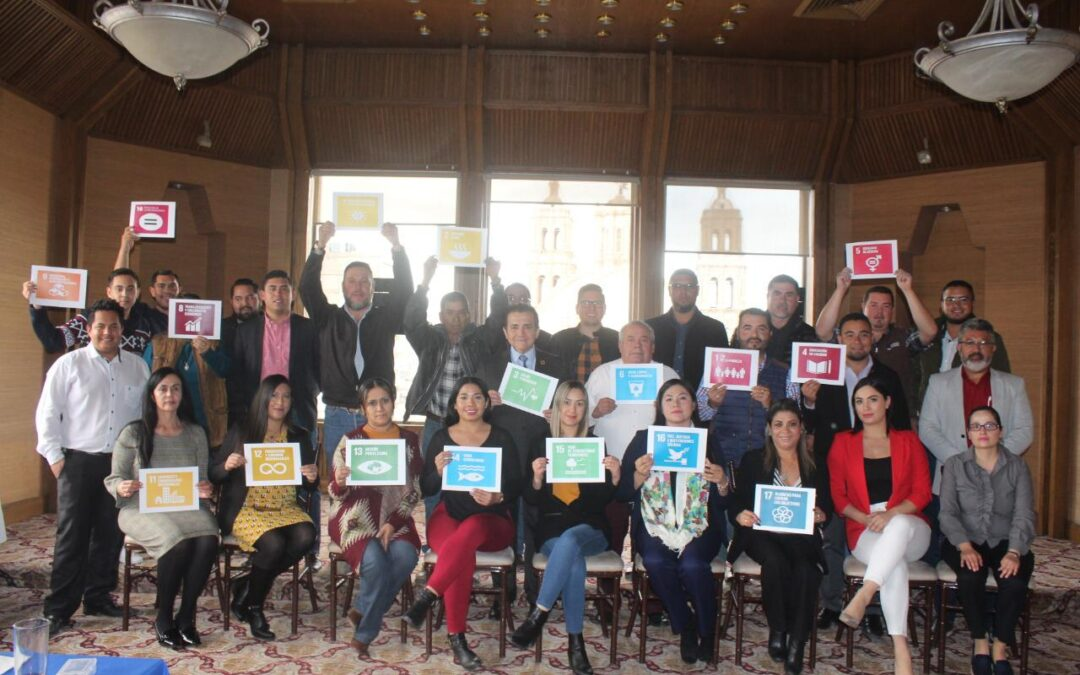 39 ayuntamientos de Chihuahua recibieron capacitación sobre la Agenda 2030 de la ONU y los Objetivos de Desarrollo Sostenible (ODS)