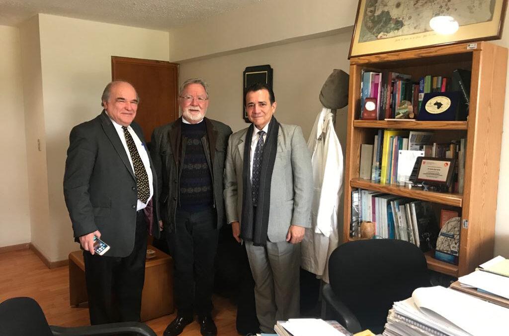 Reunión Consejeros del Centro Municipalista, con el Dr. Carlos Gay García, Coordinador del  Programa de Investigación en Cambio Climático (PINCC) de la UNAM